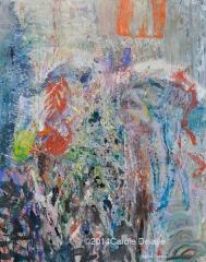 carole delaye, peinture abstraite, apparence, avril 2014