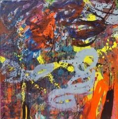carole delaye, peinture abstraite, pensées, août 2014