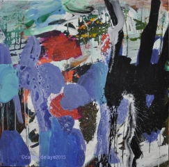 carole delaye, peinture abstraite, an gel, octobre 2015