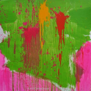 carole delaye, peinture abstraite, vendredi 13, novembre 2015