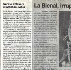 Press El Nacional, Mexico, 1995