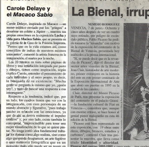 Journal El Nacional, Mexico 1995