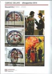catalogue rétrospective carole delaye galerie page 1