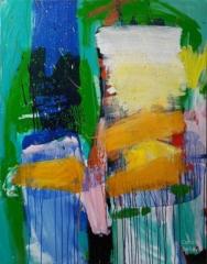 carole delaye, peinture, les deux amis, 2019